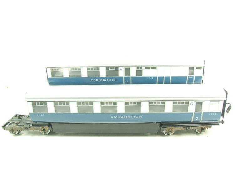 "Ace Trains O Gauge C7 LNER ""Record Breaking Set"" Articulated x6 Coaches Coronation Set 3 Rail image 19"