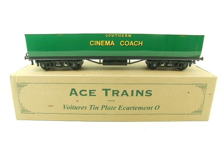"Ace Trains Wright Overlay Series O Gauge SR ""Cinema"" Coach R/N 1308 Boxed image 11"