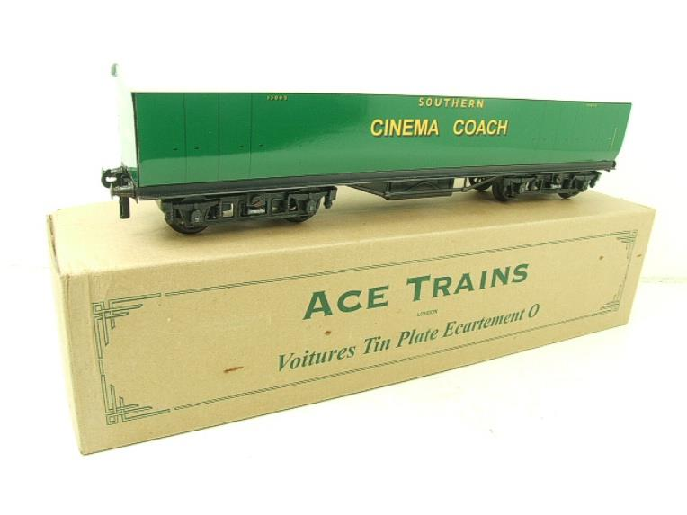 "Ace Trains Wright Overlay Series O Gauge SR ""Cinema"" Coach R/N 1308 Boxed image 13"
