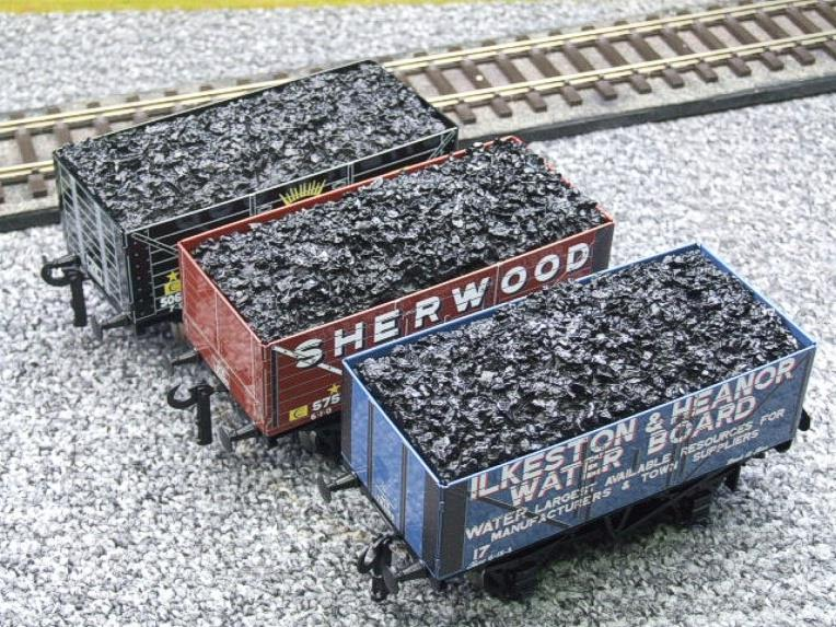 "Ace Trains O Gauge G/5 WS2 Private Owner ""Midlands"" Coal Wagons x3 Set 2 Bxd image 12"
