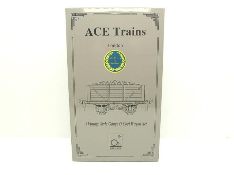 "Ace Trains O Gauge G/5 WS2 Private Owner ""Midlands"" Coal Wagons x3 Set 2 Bxd image 15"