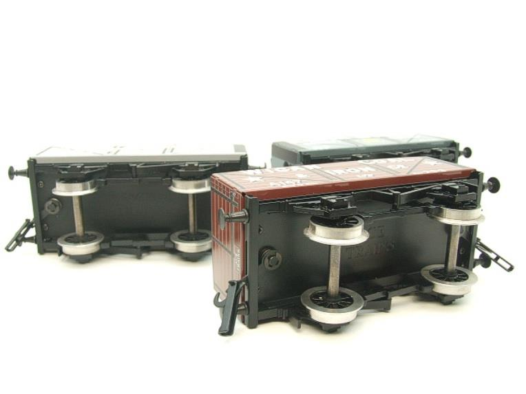 "Ace Trains O Gauge G/5 WS4 Private Owner ""North West"" Coal Wagons x3 Set 4 Bxd image 12"