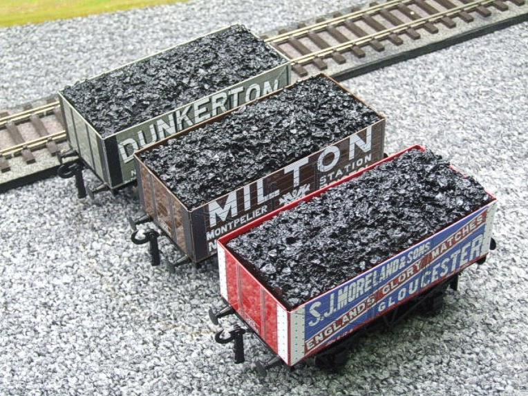 "Ace Trains O Gauge G/5 WS5 Private Owner ""West Country"" Coal Wagons x3 Set 5 Bxd image 11"