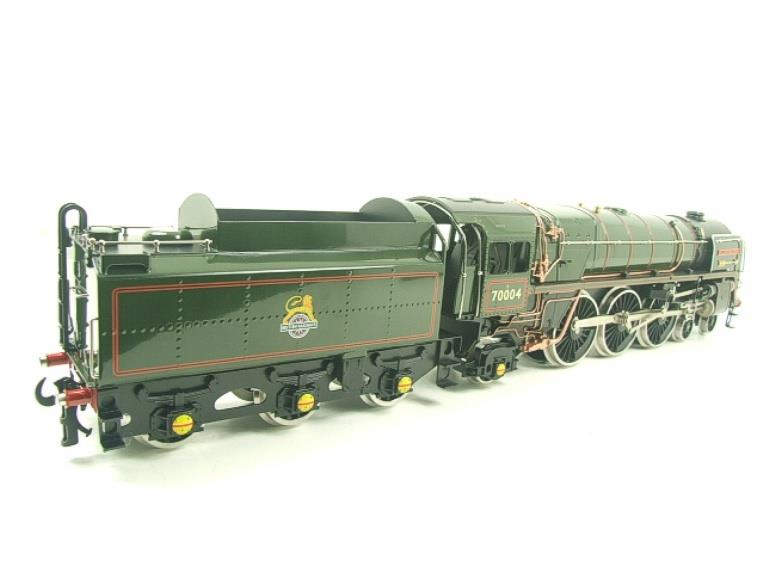 "Ace Trains O Gauge E27D BR Green Britannia Class ""William Shakespeare"" FOB Edition"" R/N 70004 Bxd image 12"