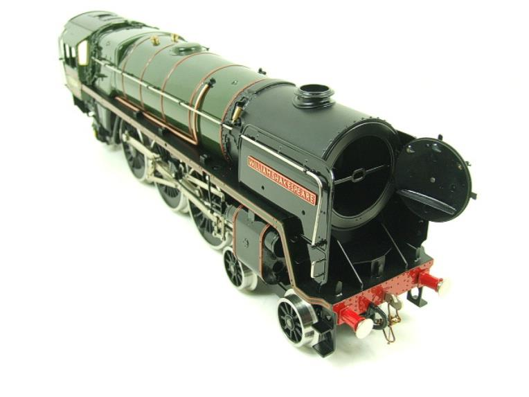 "Ace Trains O Gauge E27D BR Green Britannia Class ""William Shakespeare"" FOB Edition"" R/N 70004 Bxd image 14"