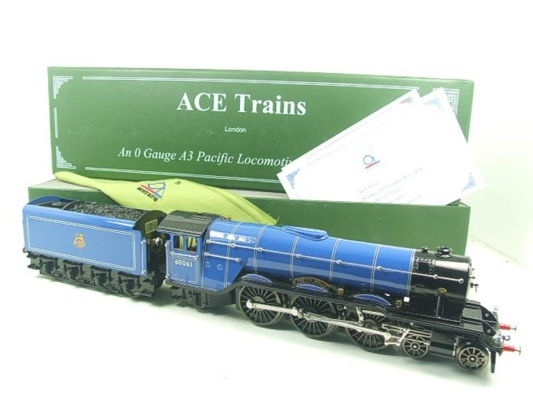 "Ace Trains O Gauge E6 BR Blue A3 Pacific ""Pretty Polly"" R/N 60061 Electric Boxed image 22"