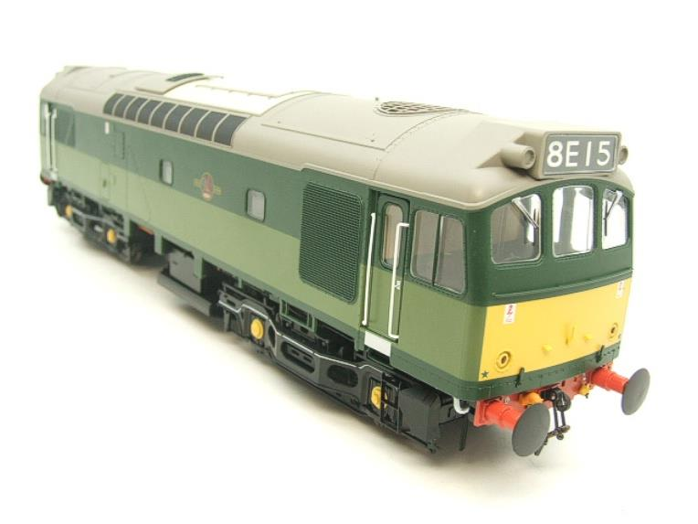 Heljan O Gauge Item 2555 BR Two Tone Green Class 25 Type 2 WSYP Diesel Loco Electric Bxd image 19