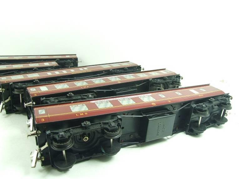 "Ace Trains O Gauge LMS C2 ""Merseyside Express"" Coaches x5 Set 2/3 Rail Edition Boxed Set image 19"