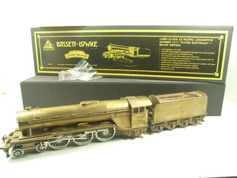 "Bassett Lowke O Gauge BL99021, A3 Pacific Class Brass Edition ""Flying Scotsman"" Electric 2/3 Rail image 21"