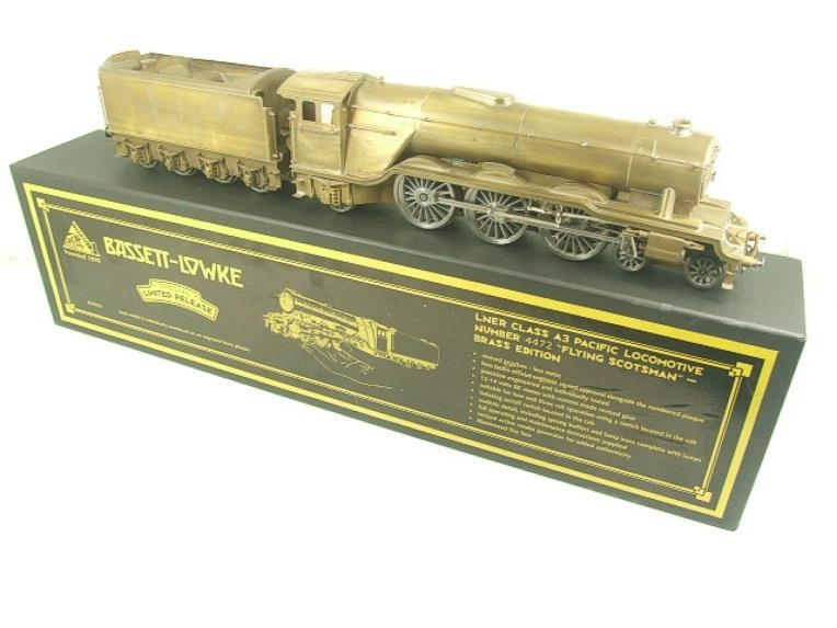 "Bassett Lowke O Gauge BL99021, A3 Pacific Class Brass Edition ""Flying Scotsman"" Electric 2/3 Rail image 22"