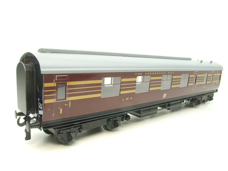 Ace Trains O Gauge C28 A & B Sets & C28K Kitchen & C28 Open 3rd LMS Maroon Coronation x8 Coaches image 12