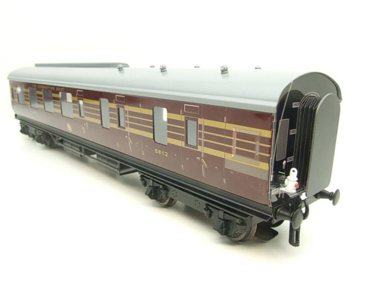 Ace Trains O Gauge C28 A & B Sets & C28K Kitchen & C28 Open 3rd LMS Maroon Coronation x8 Coaches image 14