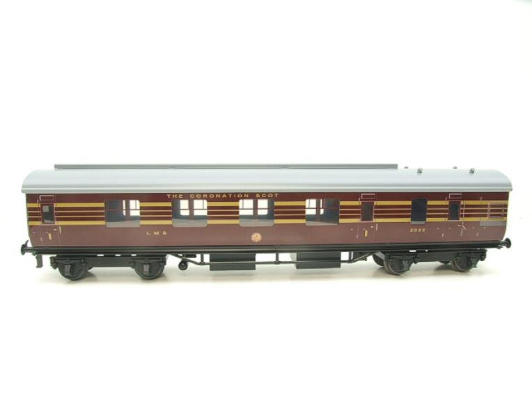 Ace Trains O Gauge C28 A & B Sets & C28K Kitchen & C28 Open 3rd LMS Maroon Coronation x8 Coaches image 16
