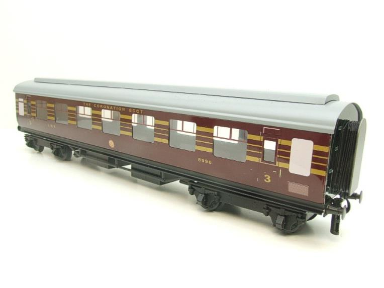 Ace Trains O Gauge C28 A & B Sets & C28K Kitchen & C28 Open 3rd LMS Maroon Coronation x8 Coaches image 19