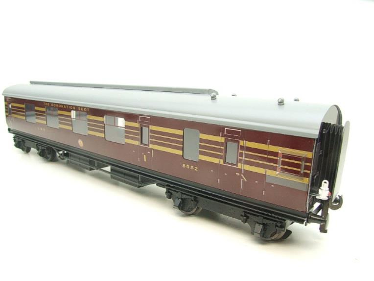 Ace Trains O Gauge C28 A & B Sets & C28K Kitchen & C28 Open 3rd LMS Maroon Coronation x8 Coaches image 21