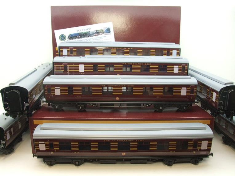 Ace Trains O Gauge C28 A & B Sets & C28K Kitchen & C28 Open 3rd LMS Maroon Coronation x8 Coaches image 22