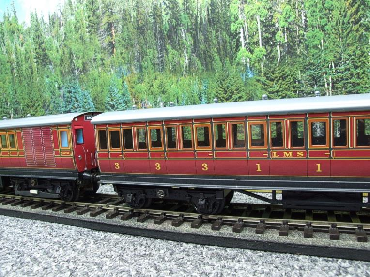 "Ace Trains O Gauge Richmond Set CIE ""LMS EMU"" Electric Multiple Unit Coach Set Electric 3 Rail Bxd image 13"