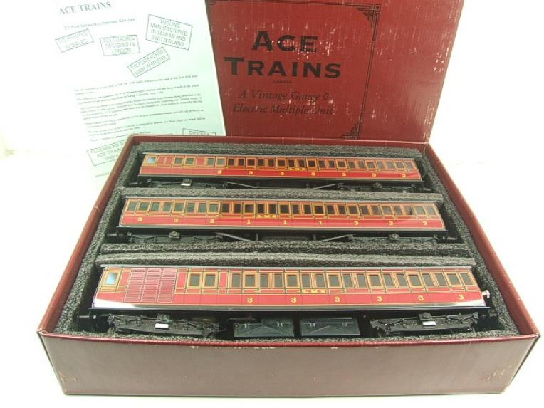 "Ace Trains O Gauge Richmond Set CIE ""LMS EMU"" Electric Multiple Unit Coach Set Electric 3 Rail Bxd image 19"