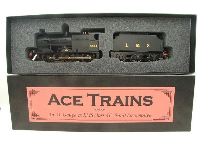 Ace Trains O Gauge E5C Fowler 4F Class 0-6-0 Loco and Tender 4454 LMS Satin Black image 18