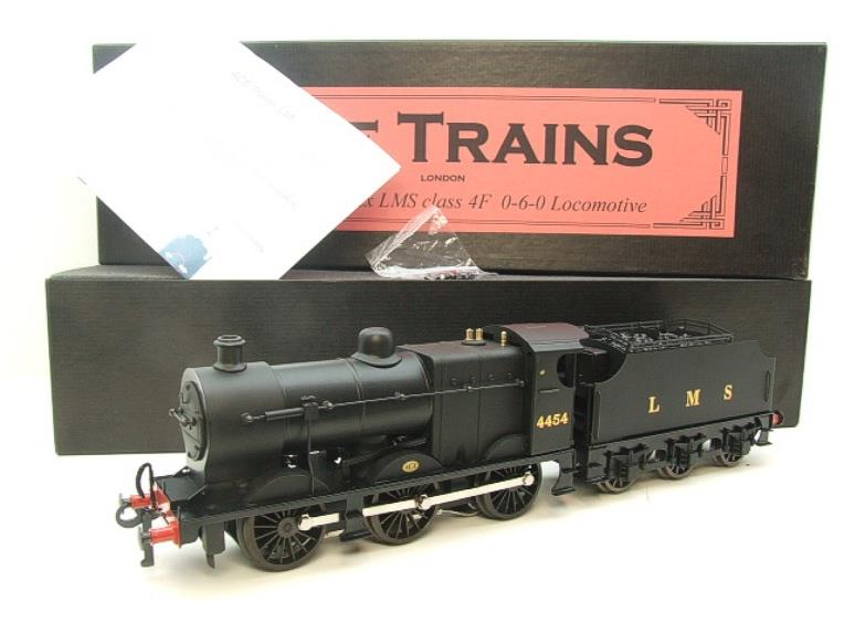Ace Trains O Gauge E5C Fowler 4F Class 0-6-0 Loco and Tender 4454 LMS Satin Black image 20