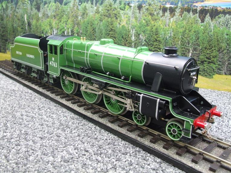 Ace Trains O Gauge E19-E BR Apple Green Black Five Loco & Tender R/N M4763 Electric 2/3 Rail Bxd image 20