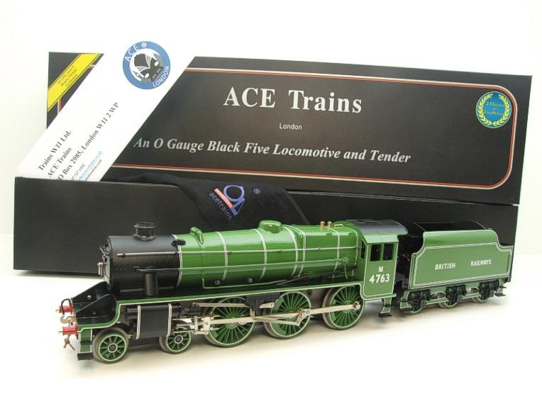 Ace Trains O Gauge E19-E BR Apple Green Black Five Loco & Tender R/N M4763 Electric 2/3 Rail Bxd image 22