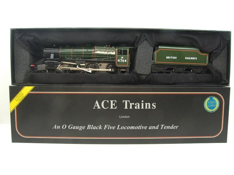 Ace Trains O Gauge E19-H BR Gloss Green Black Five Loco & Tender R/N M4764 Electric 2/3 Rail Bxd image 19