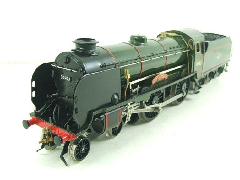 "Ace Trains O Gauge E10 BR Gloss Lined Green Schools Class ""Charterhouse"" R/N 30903 Elec 2/3 Rail Bxd image 11"