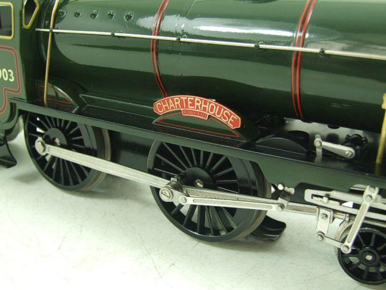 "Ace Trains O Gauge E10 BR Gloss Lined Green Schools Class ""Charterhouse"" R/N 30903 Elec 2/3 Rail Bxd image 12"