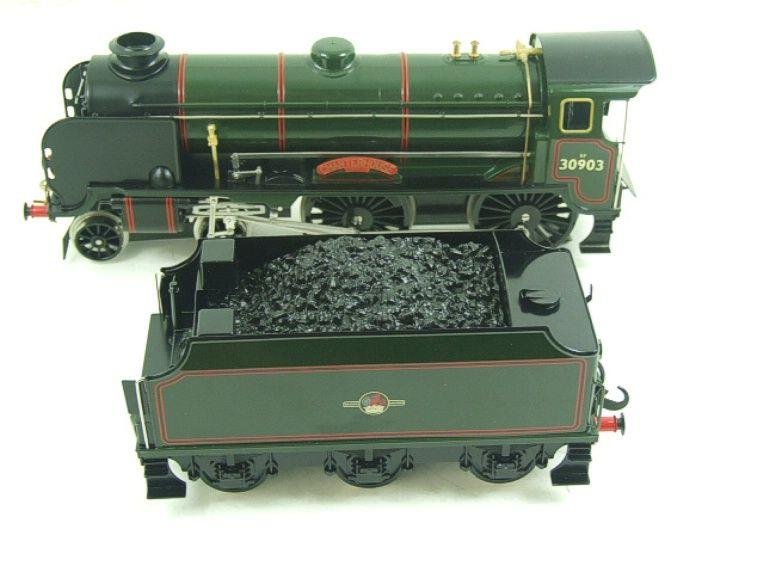 "Ace Trains O Gauge E10 BR Gloss Lined Green Schools Class ""Charterhouse"" R/N 30903 Elec 2/3 Rail Bxd image 15"