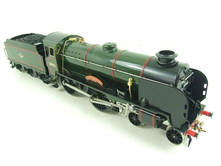 "Ace Trains O Gauge E10 BR Gloss Lined Green Schools Class ""Charterhouse"" R/N 30903 Elec 2/3 Rail Bxd image 16"