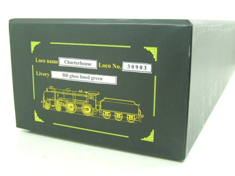 "Ace Trains O Gauge E10 BR Gloss Lined Green Schools Class ""Charterhouse"" R/N 30903 Elec 2/3 Rail Bxd image 20"