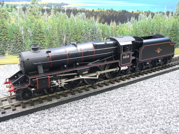 Ace Trains O Gauge E19-D4 Late BR Gloss Black 5, 4-6-0 Loco & Tender R/N 45110 Elec 2/3 Rail NEW Bxd image 11