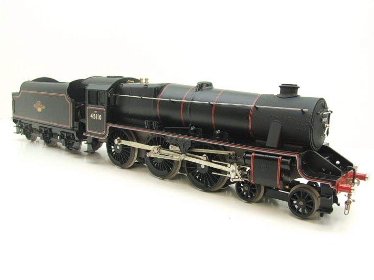 Ace Trains O Gauge E19-D4 Late BR Gloss Black 5, 4-6-0 Loco & Tender R/N 45110 Elec 2/3 Rail NEW Bxd image 16
