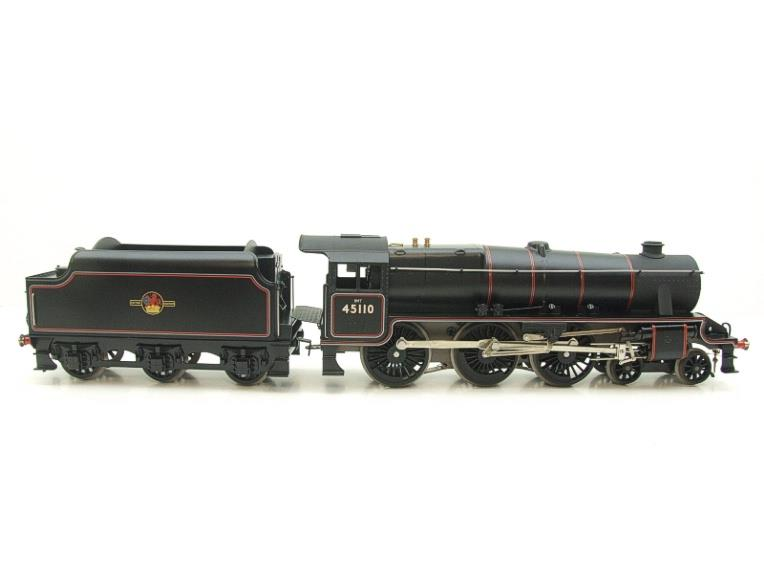 Ace Trains O Gauge E19-D4 Late BR Gloss Black 5, 4-6-0 Loco & Tender R/N 45110 Elec 2/3 Rail NEW Bxd image 21