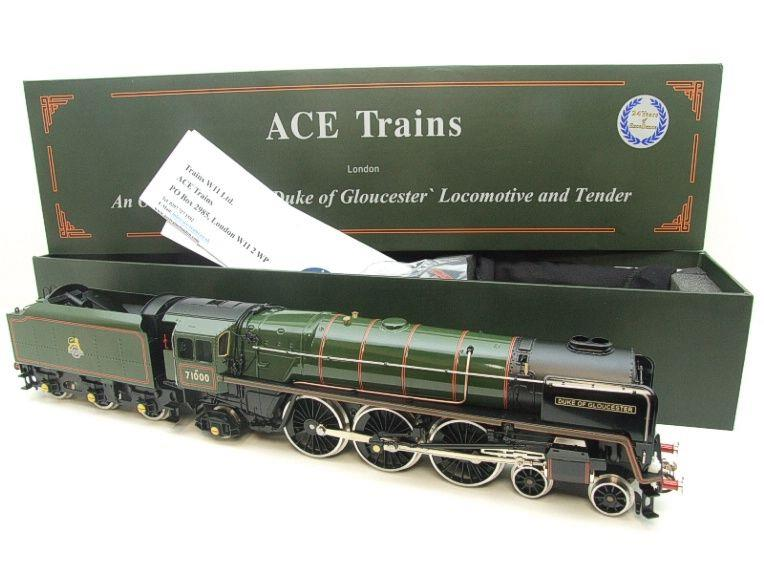 "ACE Trains O Gauge E/31A BR Class 8P 4-6-2 Pre 56 ""Duke of Gloucester"" R/N 71000 Electric 2/3 Rail image 21"