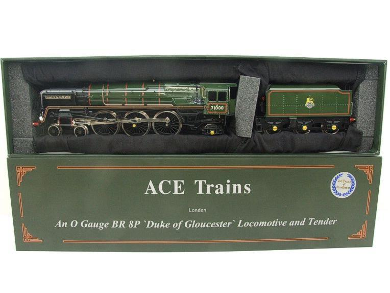 "ACE Trains O Gauge E/31A BR Class 8P 4-6-2 Pre 56 ""Duke of Gloucester"" R/N 71000 Electric 2/3 Rail image 22"