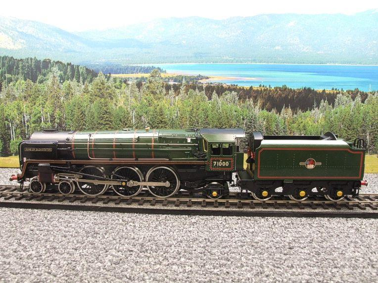 "ACE Trains O Gauge E/31B BR Class 8P 4-6-2 Post 56 ""Duke of Gloucester"" R/N 71000 Electric 2/3 Rail image 12"