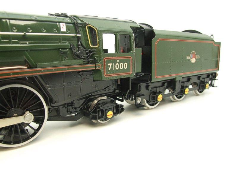 "ACE Trains O Gauge E/31B BR Class 8P 4-6-2 Post 56 ""Duke of Gloucester"" R/N 71000 Electric 2/3 Rail image 14"