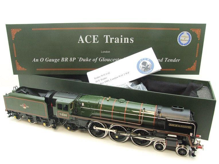 "ACE Trains O Gauge E/31B BR Class 8P 4-6-2 Post 56 ""Duke of Gloucester"" R/N 71000 Electric 2/3 Rail image 21"