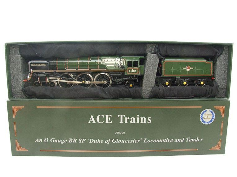 "ACE Trains O Gauge E/31B BR Class 8P 4-6-2 Post 56 ""Duke of Gloucester"" R/N 71000 Electric 2/3 Rail image 22"