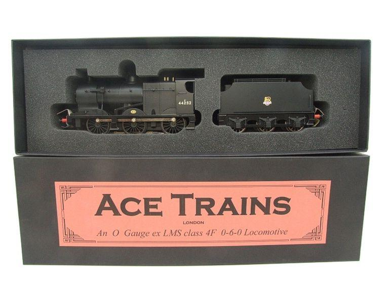 Ace Trains O Gauge E5G Fowler 4F Class 0-6-0 Loco and Tender R/N 44252 Early BR Logo Satin Black image 18