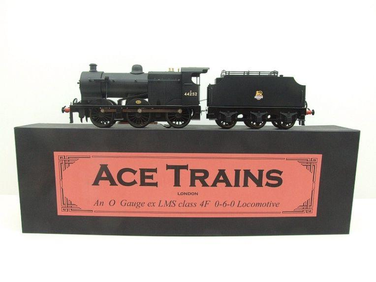 Ace Trains O Gauge E5G Fowler 4F Class 0-6-0 Loco and Tender R/N 44252 Early BR Logo Satin Black image 22