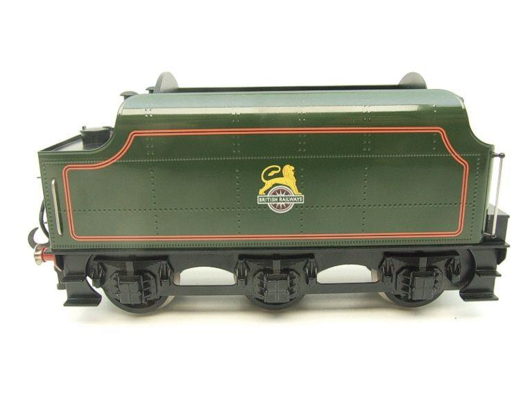 "Ace Trains O Gauge E/18-TD1 ""BR"" Early Logo"" Gloss Lined Green Early Logo Riveted Tender Brand NEW image 11"