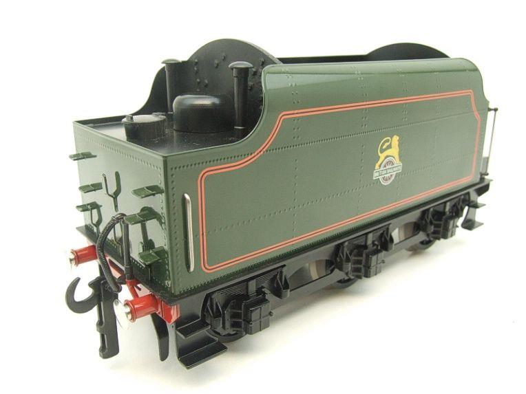 "Ace Trains O Gauge E/18-TD1 ""BR"" Early Logo"" Gloss Lined Green Early Logo Riveted Tender Brand NEW image 14"