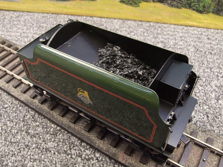 "Ace Trains O Gauge E/18-TD1 ""BR"" Early Logo"" Gloss Lined Green Early Logo Riveted Tender Brand NEW image 15"