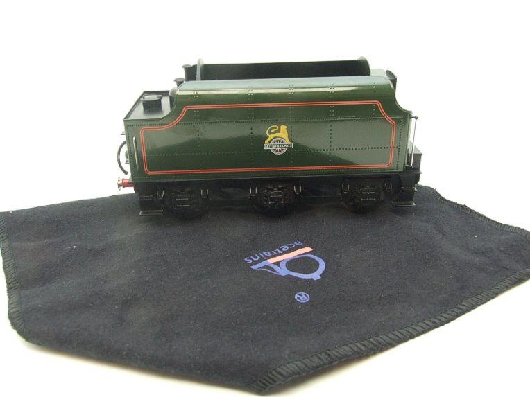 "Ace Trains O Gauge E/18-TD1 ""BR"" Early Logo"" Gloss Lined Green Early Logo Riveted Tender Brand NEW image 17"