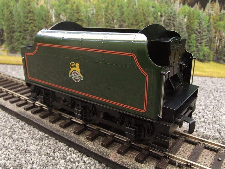 "Ace Trains O Gauge E/18-TD1 ""BR"" Early Logo"" Gloss Lined Green Early Logo Riveted Tender Brand NEW image 19"