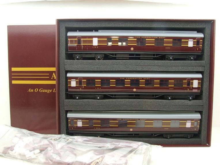 "Ace Trains E12B1 Coronation Pacific LMS Maroon ""Duchess of Hamilton & x7 Coaches Set"" Elec 2/3 Rail image 11"