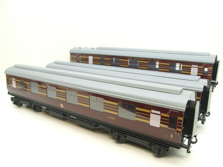 "Ace Trains E12B1 Coronation Pacific LMS Maroon ""Duchess of Hamilton & x7 Coaches Set"" Elec 2/3 Rail image 12"